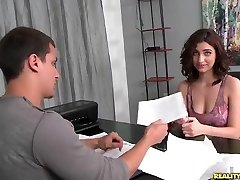 RealityKings - First Time Audition - Groaning Mouna