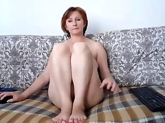 Russian momma great tits and lovely muff