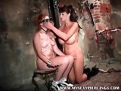 My Sexy Piercings Pierced dungeon supersluts tit and spanking tor