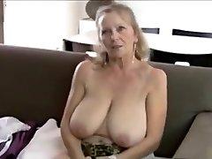 64yo grandma shows all