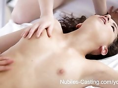 School freshman Belle Knox dukes it out with a big sausage
