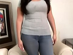 College Sweetheart with huge tits gets asked about romp - DreamGirls