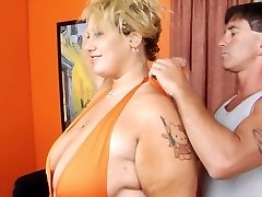 Blonde PLUS-SIZE-Female Domination