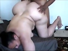 Interracial Lovemaking with a Chubby Milf Squirter
