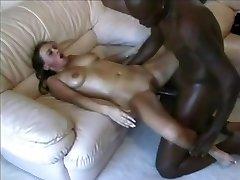 Teens Girl take big dark-hued Cock hard fuck