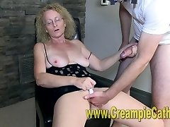 Cougar Gets A Internal Ejaculation