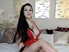 Big Titties Teen Masturbating