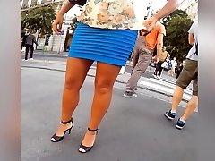 fashionable sexy milf legs