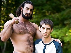 Sam Truitt & Jaxton Wheeler in Family Problems - IconMale