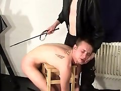Male Caning and whipping