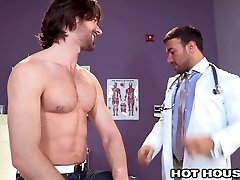 HotHouse Super-fucking-hot Doctor Buttfucked by Australian Hunk