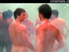 Men's shower room (part5): singing with buddies in movies (jokey compil)