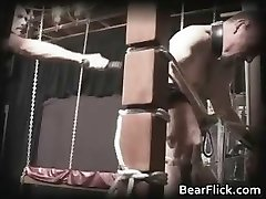 Homo bear policeman sends a painful part3