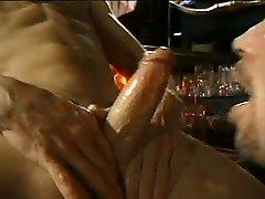 Blowjobs in a bar