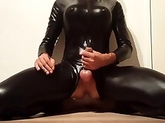 Jerk Off in Latex