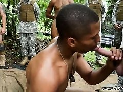Straight guy jacks off to gay porn Jungle fuck fest