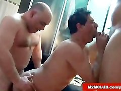 Str8 Studs Fucking a Homo