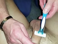 Shaving ball sack