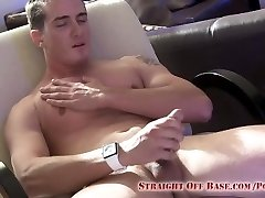 Navy Sailor Jerking His Cock Heterosexual Off Base