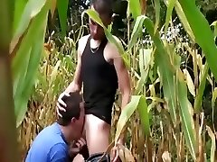 Euro outdoor gays hard cock deep-throating