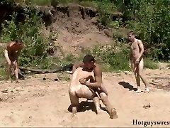 Bech boyz wrestling bare