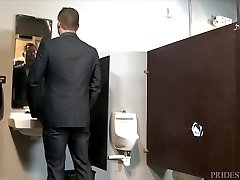 Boys Over 30 Public Work Bathroom GloryHole