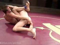 Nude Grappling Predominance