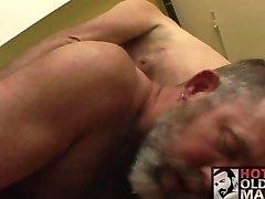 elderly dude fucks a daddy