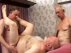 Mature father Threesome