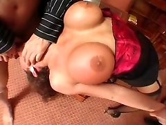 Ayla - Italian Milf screwed by two Bad Guys