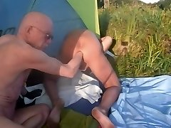 Fisting Extrem Monster Rectal Hole  -  FKK Mering Nudist Garden