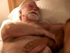 red-hot mature older dude threesome