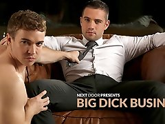 Dylan Knight & Gabriele Croce in Grande Cazzo Business XXX Video NextdoorBuddies