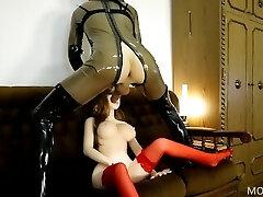 בובת סקס משוגעת, אסיאתית, ילדהה אמיתית שנדפקה ע