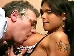 Tgirl And Dad, Muscled T Girl - Scene 01