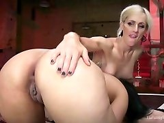 Erotic She-devil with Cock Pulverizes Penny Barber to strike a deal
