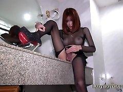Ladyboy Wants Your Man Sausage Up Her Back Vagina