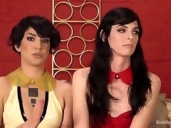 Trans Nymph / Cis Nymph Fucky-fucky: Bianca Stone, Mandy Mitchell