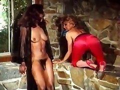 Tranny Encounters Ebony and White Caper
