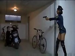 police dark-hued dark-hued