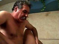 old man and suntanned transgirl