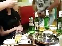 Japanese dinnerparty with t-girl
