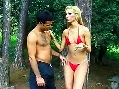 Tall Golden-haired Brazilian Lady-boy