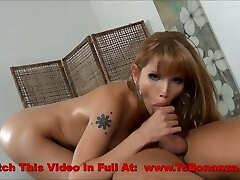 Beautiful Shemale Oil Massage Fuck