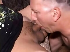 Amateur Tgirl Sylvia and Old Guy