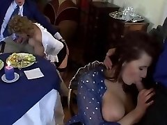 European MILF Orgy with Big Boobies and Sexy Outfits