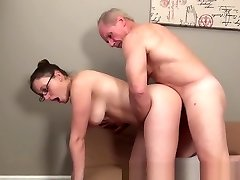 Incredible Amateur video with Couple, Young/Old scenes