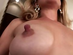 Puny saggy tits with big puffies