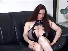 Goth huge hooters JOI