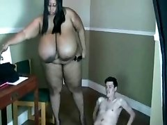 Insane Foul mouthed SBBW 38MMM Boobed teacher